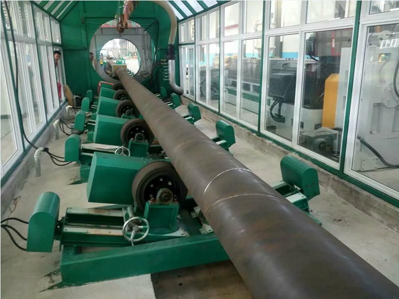 3 Layer Pe Steel Pipe Anti Corrosion Processing Line